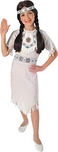 Rubies Native American Princess Child Costume, Medium front-470623