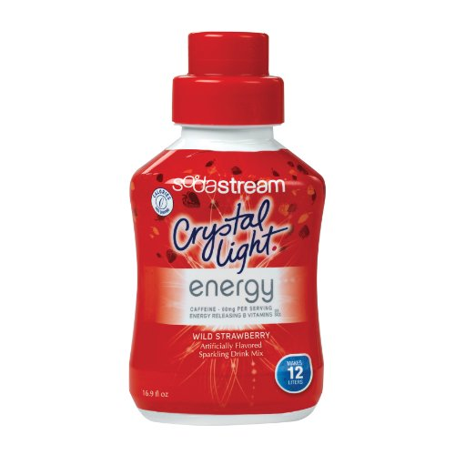 SodaStream Wild Strawberry Energy Drink Mix