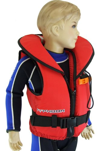 Image of Typhoon 100N CHILDS Life Jacket with Whistle 10kg-40kg Ages 2-13 (B007OTEY9I)