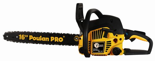 Poulan Pro PP3516AVX 16-Inch 35cc 2-Cycle Gas-Powered Anti-Vibration Chain Saw