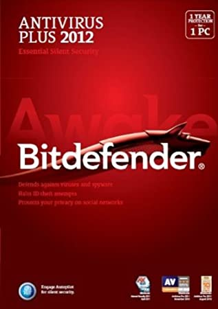 BitDefender Anti Virus 2012, 1 User, 1 Year License (PC)