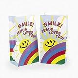 Smile Jesus Loves You Treat Bags (1 dz)