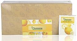 Chamong Lemon Splash Flavoured Green Tea, 100 Tea Bags