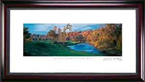 Blackwolf Run 9th Hole Framed Golf Picture by Stonehouse Golf