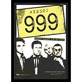 999 (Nasty! Nasty!, No Pity) Music Gold Wood-Mounted Poster Print - 24