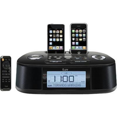 Hi-Fi Dual Alarm Clock Radio by JWIN