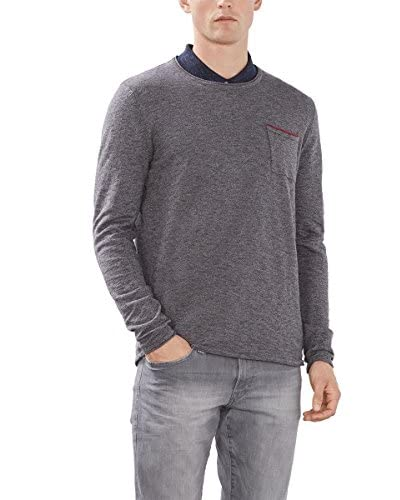 edc by ESPRIT Jersey Gris Oscuro