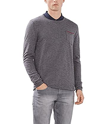 edc by ESPRIT Jersey (Gris Oscuro)