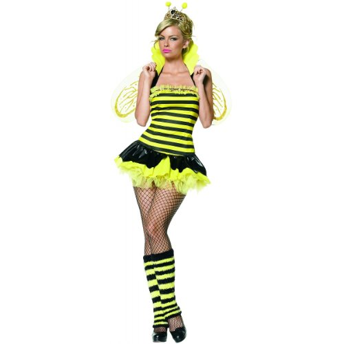 Queen Bumble Bee Costume - Small/Medium - Dress Size 4-8