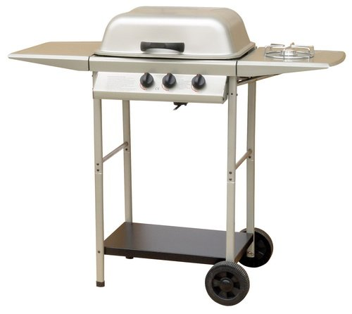 Gas BBQ (2 Burner) with side burner