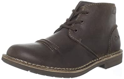 Clarks Men's Medway Smith Lace-Up Boot,Taupe,7.5 M US