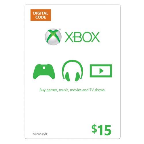 Xbox $15 Gift Card Photo