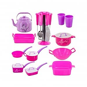Small world kitchen pretend play pro chef for Kitchen craft cookware reviews