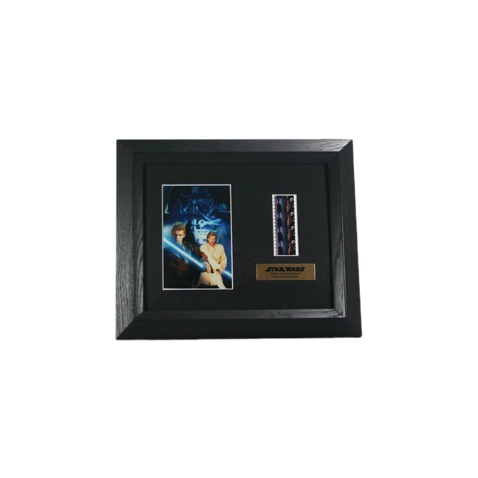 """Star Wars Attack of the Clones Episode II Collectible Film Cell Plaque, 12.25"""" x 10.25""""  Other Products"""