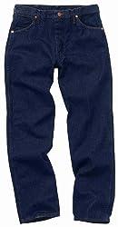 Wrangler Men's Big Original Fit Jean,Prewashed Indigo,46x32
