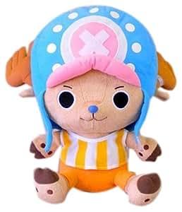 One Piece Stofftier / Puppe / Plüsch Kissen: Tony Chopper 30 cm (umkehrbar in Kissen)