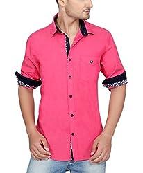 Ecohawk Pink Casual Slim Fit Shirt 8093-C