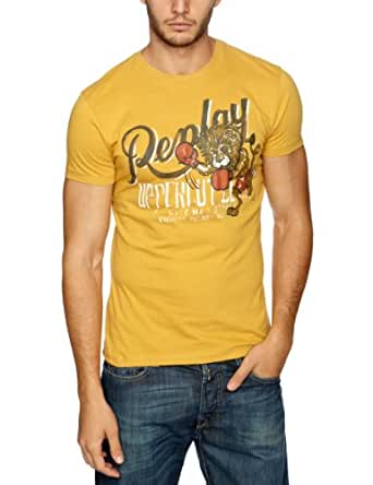 Replay M3159 Printed Men's T-Shirt Corn Yellow SmallSmallReplay M3159 Printed Men's T-Shirt Corn Yellow SmallM3159 .000.2660.042    S