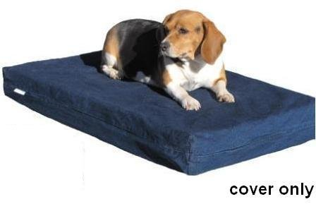 Heavy-Duty-Navy-Blue-Denim-Jean-Dog-Pet-Bed-External-Cover-Replacement-cover-only-7-Sizes-Small-Medium-Large-XL-XXL-and-XXXL