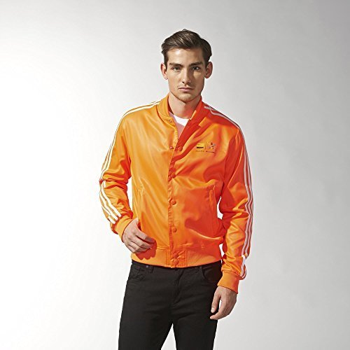 adidas Uomini Originali Pharrell Williams Lil' Giacca - Solar Arancione, S