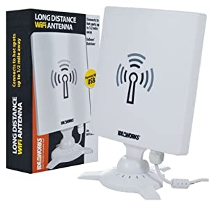 Ideaworks USB Powered Long Distance WiFi Antenna