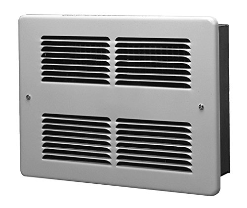 King Whf1212 1200-Watt 120-Volt Wall Heater, White