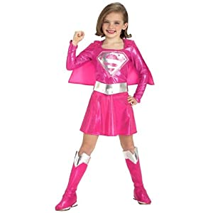 Child Pink Supergirl Costume by Rubies Costume Co. Inc