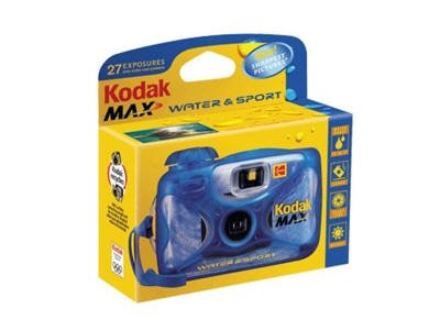 New EASTMAN KODAK COMPANY KIT KOD 8004707 WATER SPORT ONE TIME Durable And Shock-Proof Frame