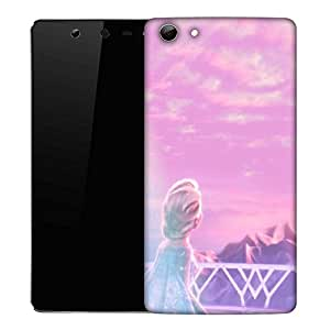 Snoogg Look for him Designer Protective Back Case Cover For Micromax Canvas Selfie Q348
