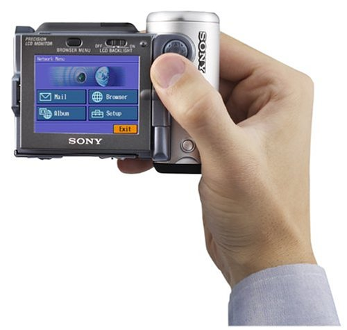 Sony DCRIP7BT MicroMV Digital Camcorder w/ 2.5