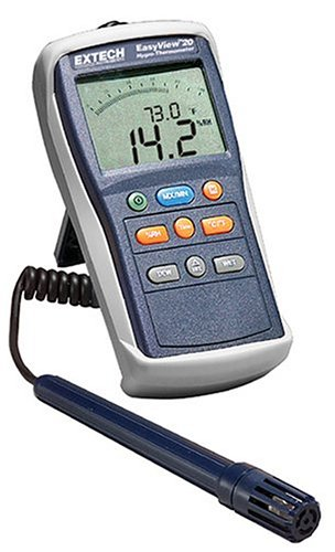 Extech EA20 EasyView Hand Held Hygro-Thermometer - 1