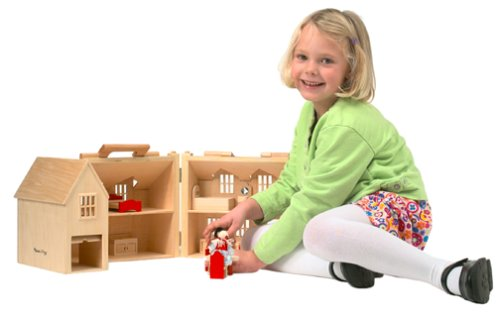 Melissa And Doug Wooden Doll House