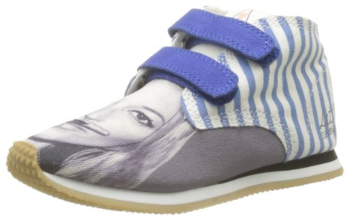 Eleven Paris  Little Run Kate,  Sneaker unisex bambino, Blu (Blue - Blau - Bleu (Blue)), 35