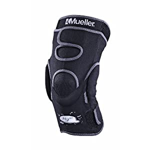 Mueller Hg80 Hinged Knee Brace, X-Large, Black, 1-Count Box
