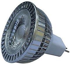 MR16 5W 1xCOB 450LM Warm White 3000-3200K LED Spot LightsDC 12V