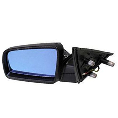 5-Series 04-10 Rear View Mirror Lh, Power, Heated, W/ Blue Glass, W/O Electrochromic, Primed, Spain Built Left Driver Side