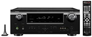 Denon AVR-791 7.1 Channel A/V Home Theater Multi-Source / Multi-Zone Receiver with HDMI 1.4a supporting 1080p and 3D (Black) (Discontinued by Manufacturer)
