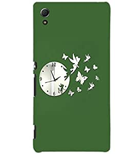 SONY XPERIA Z4 CLOCK Back Cover by PRINTSWAG