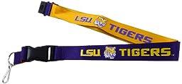 NCAA LSU Tigers Reversible Lanyard