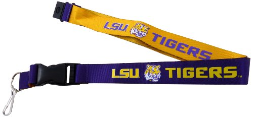 NCAA LSU Tigers Reversible Lanyard at Amazon.com