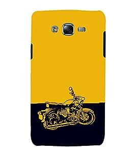 EPICCASE Trendy Bike Mobile Back Case Cover For Samsung Galaxy J7 (Designer Case)