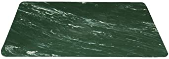 Durable Coporation Rubber Grand-Stand Beauty & Barber Anti-Fatigue Mat, for Indoors, Marble Hunter Green