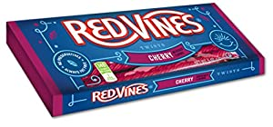 Red Vines, Red Cherry Twists, 5-Ounce Packages (Pack of 24)