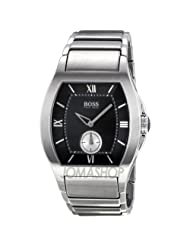 Hugo Boss Black Dial Stainless Steel Mens Watch HB1512041