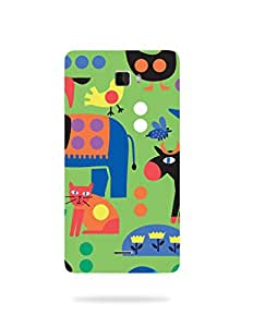 alDivo Premium Quality Printed Mobile Back Cover For Coolpad Dozen F1 / Coolpad Dozen F1 Back Case Cover (KT515)