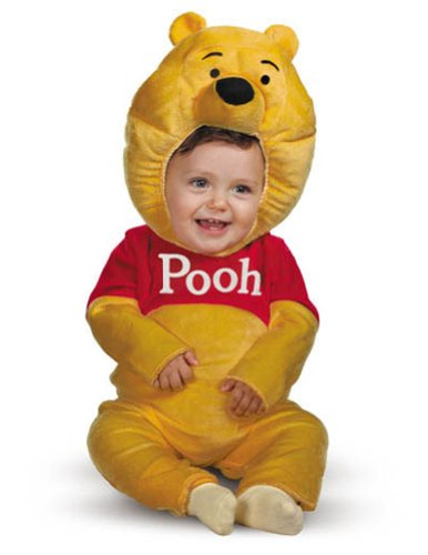 Winnie The Pooh Toddler Costume 3T-4T - Toddler Halloween Costume