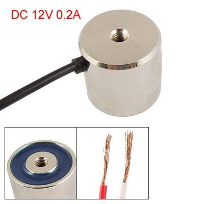 "1.26"" Od 10Kg Sucked Type Round Solenoid Dc 12V 0.2A front-164423"