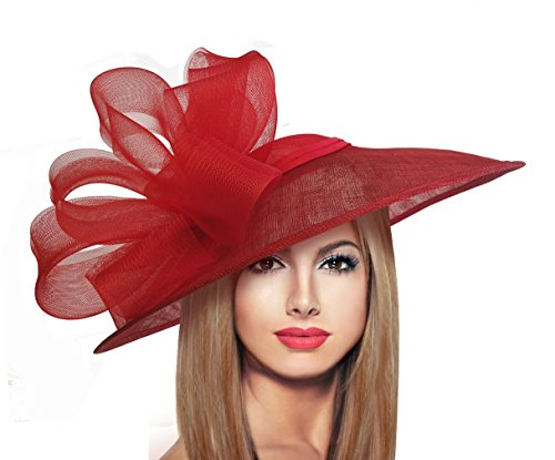 Red Hat Society by Luke Song Kentucky Derby Hatinator Red