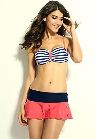Amazon.com: Cali Chic Women's Swimsuit Cutest Vintage