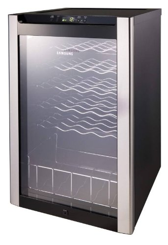 Samsung RW33EBSS Wine Cellar with UV Resistant Glass Single Zone